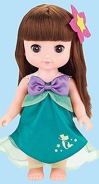 レミンソランの服・人魚姫アリエルのドレス