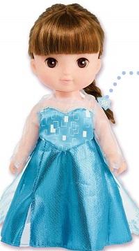レミンソランの服・アナ雪のエルサのドレス