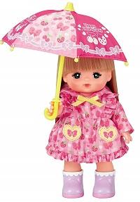 メルちゃんのピンクのレインコート・カッパ