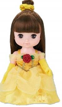 レミンソランの服・ベルのドレスセット