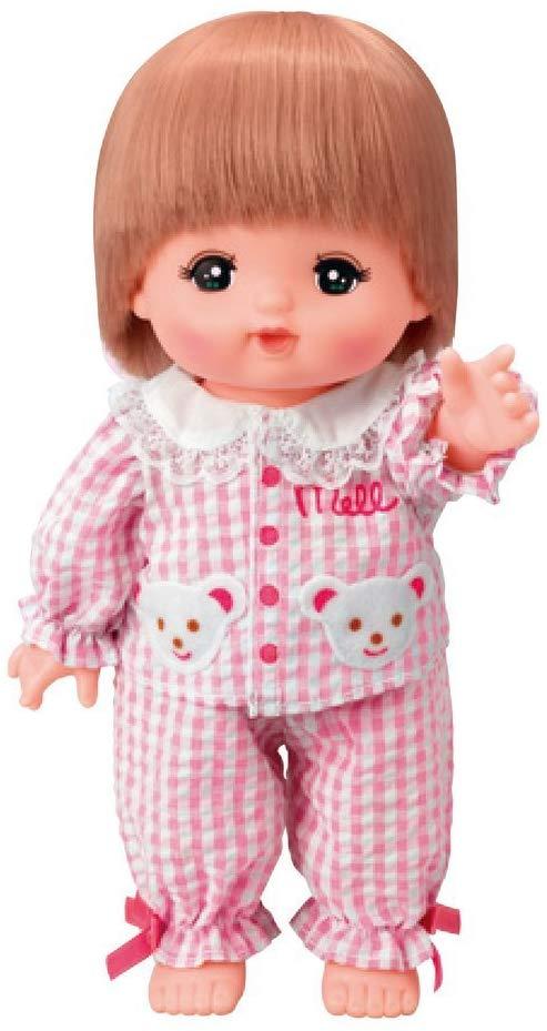 メルちゃんの服・ピンクのチェックパジャマ
