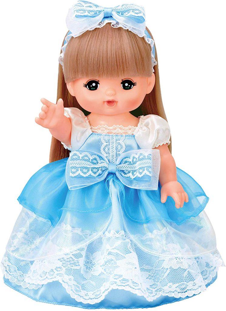 メルちゃんの服・水色のドレス