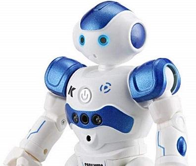 人型プログラミングロボット