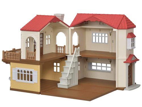 シルバニアファミリーの赤い屋根の大きなお家