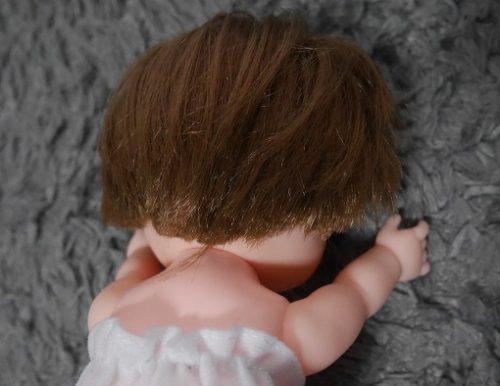 レミンちゃんの後ろの髪