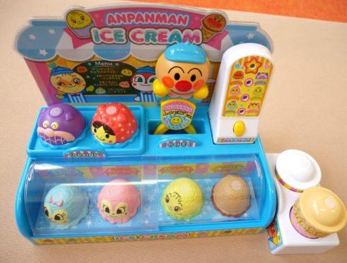 アンパンマンのアイスクリームやさんのおもちゃの口コミや感想