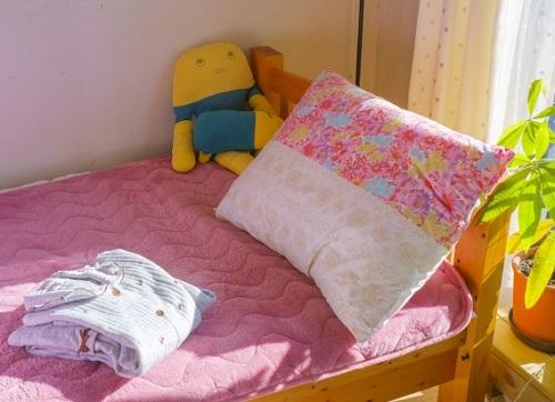 小学生の女の子の一人部屋