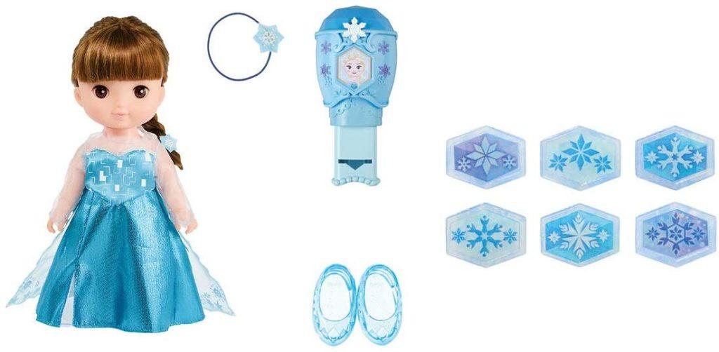 レミンちゃんのアナと雪の女王のエルサセット