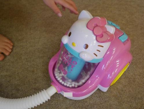 キティちゃんの掃除機の口コミ