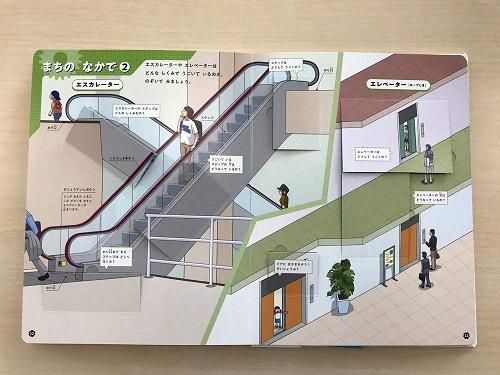 きかいのしくみ図鑑のエレベーター内部