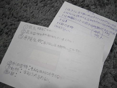 図鑑のランキングの紙