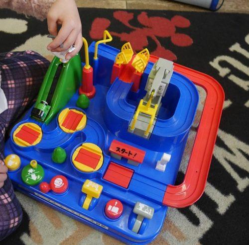 学研のトーマスランドのおもちゃ