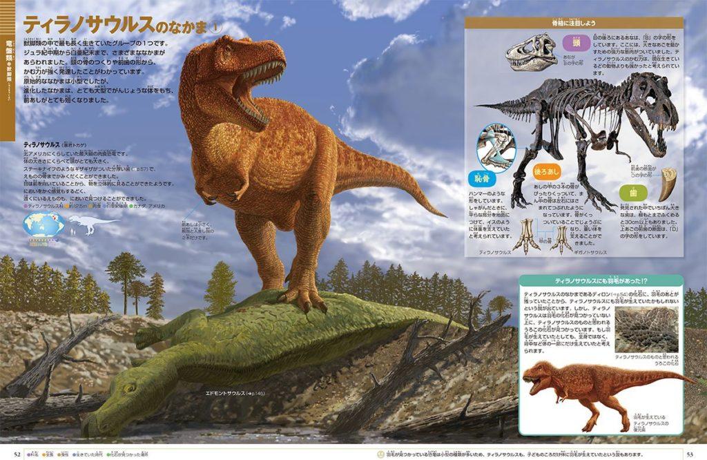 小学館の図鑑ネオの恐竜の内容