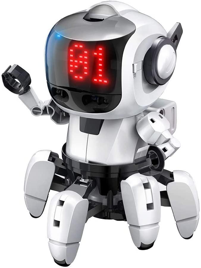 プログラミング・フォロ for PaletteIDE 赤外線レーダー搭載6足歩行ロボット  MR-9110