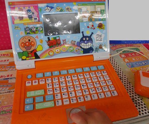 アンパンマンのパソコンや口コミ