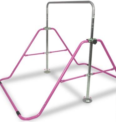 室内用鉄棒のてつをくんピンク色
