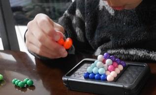 小学生の知育玩具にロンポス