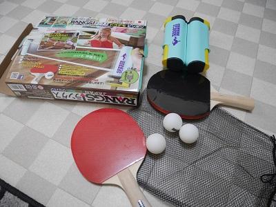 ラングスジャパンの卓球セット