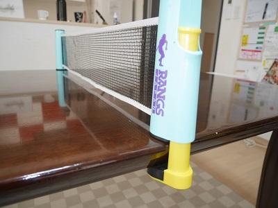 リビングやダイニングの卓球セットのネット