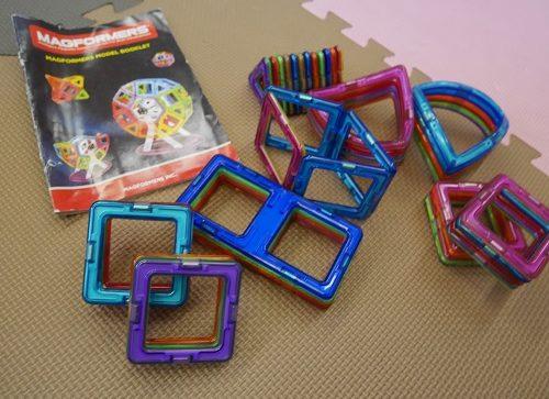 知育玩具マグフォーマーのベーシックセット