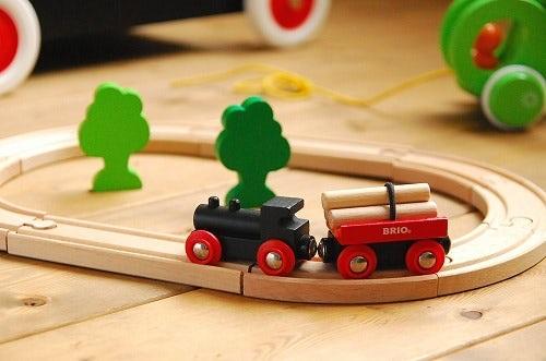 ブリオのレールおもちゃ