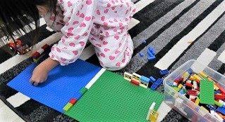 ラキューよりもレゴの方が好きな女の子