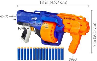 ナーフ銃のエリート サージファイヤー E0011 正規品