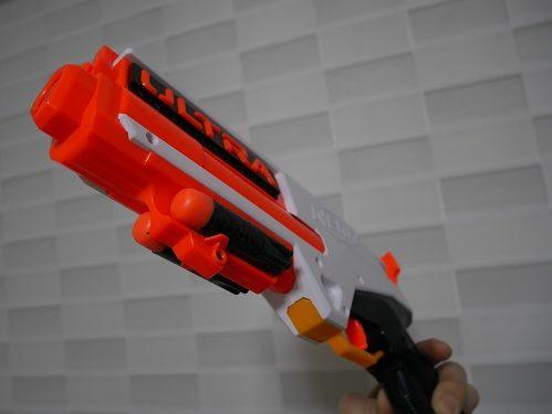ナーフ銃のウルトラシリーズのデザインや色