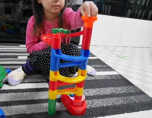 くみくみスロープの5歳の子供の作品例。
