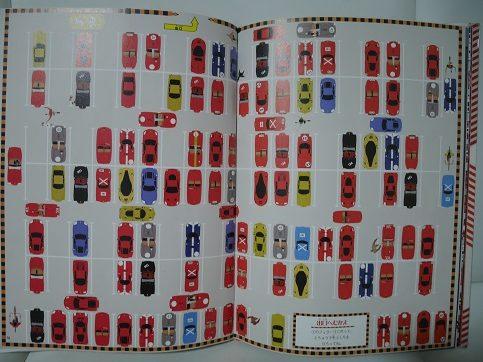 フェラーリの駐車場の迷路