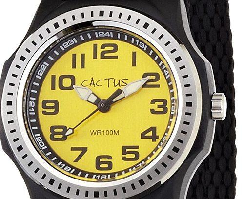男の子の小学生の進級祝いにカクタスの腕時計がおすすめ