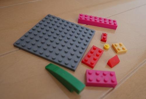 ナノブロックのパーツの種類