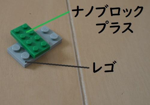ナノブロックとレゴの兌換性