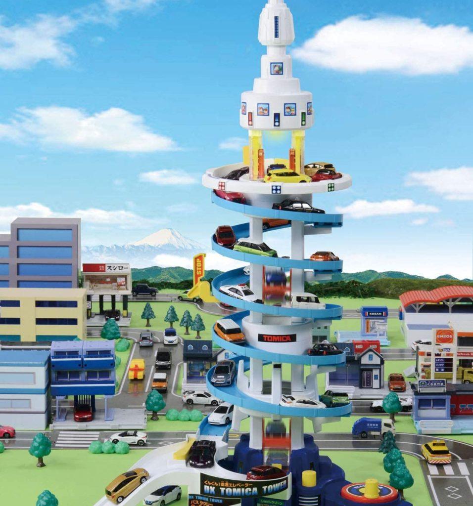 トミカ でっかく遊ぼう ! DX トミカタワー