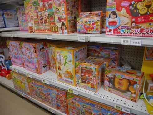 トイザらスでのアンパンマンのおもちゃの値段・価格