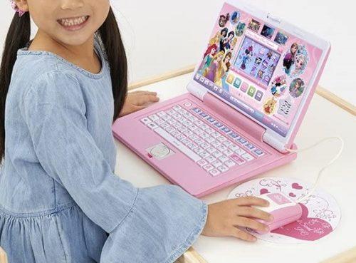 ディズニープリンセスのキッズ用パソコン