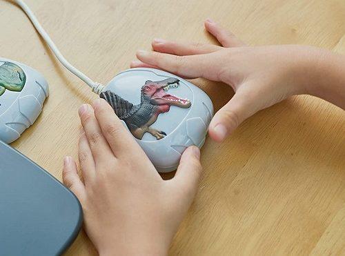 恐竜図鑑パソコンのマウス