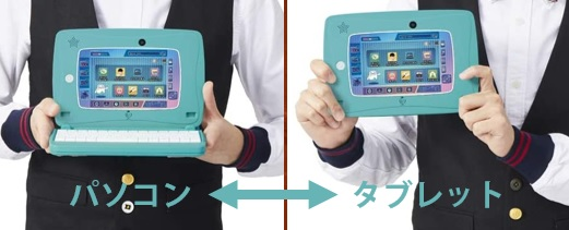 Spica note(スピカノート)のタブレットとパソコン