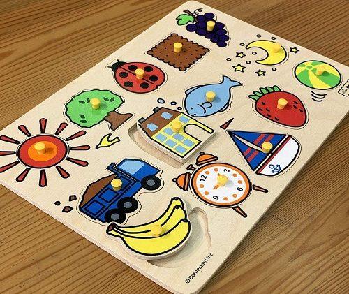 ボーネルンドのピックアップパズルの感想