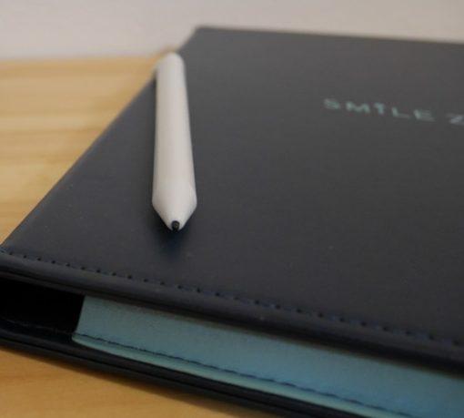 スマイルゼミのタブレットとペン先の細さ