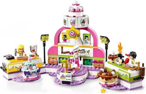 レゴフレンズシリーズのお菓子作りコンテスト