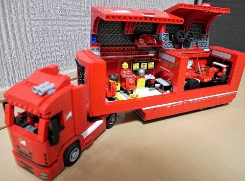 レゴスピードチャンピオンシリーズのフェラーリのトラック