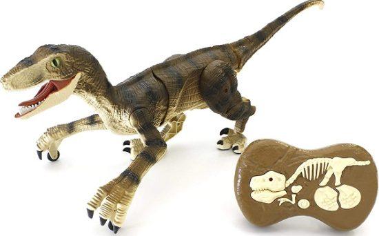恐竜を動かすラジコンカー